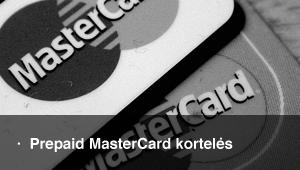 Išankstinio apmokėjimo MasterCard kortelės